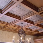 DIY Suspended Coffered Ceiling