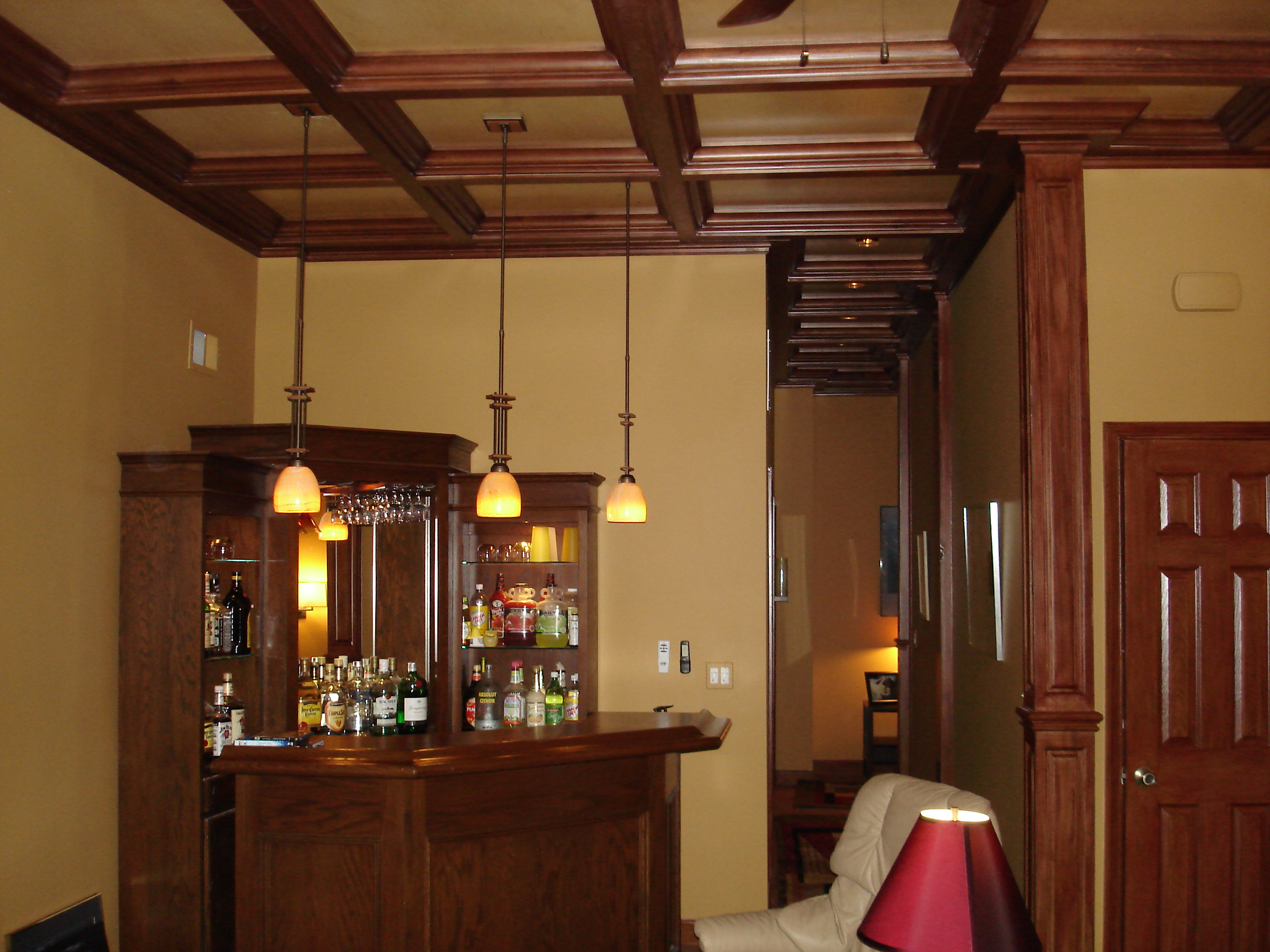 Coffered Cathedral Ceiling Of 11 Basement Coffered Ceiling Wood Woodgrid Coffered