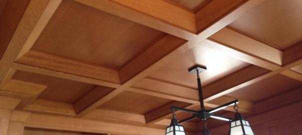 Frank Lloyd Wright Ceiling
