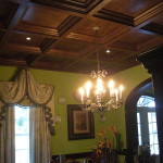 Coffered ceiling for cathedral ceiling for Coffered cathedral ceiling