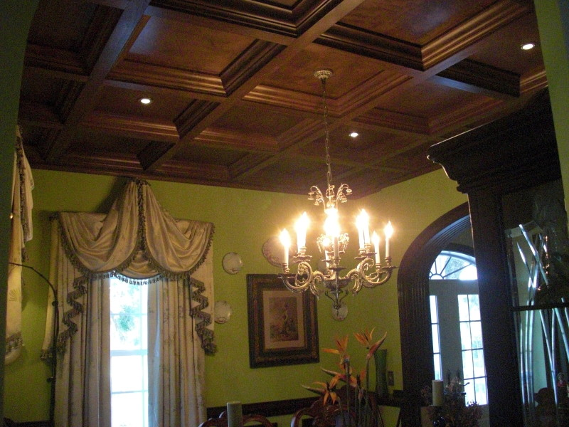 Progress Lighting Lucky Collection 14 5 In 2 Light: Photos Of Coffered Ceilings
