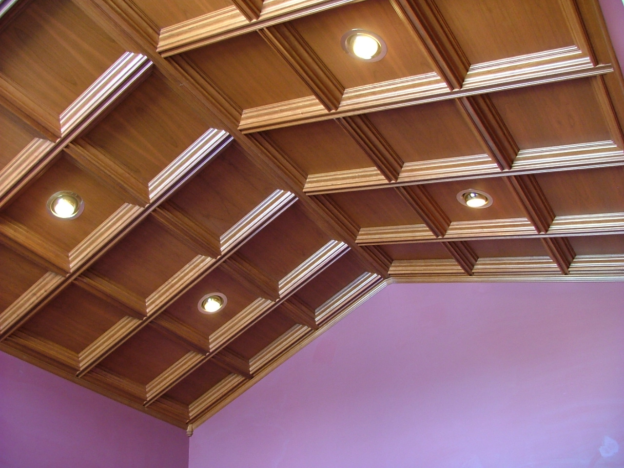 Woodgrid coffered ceilings by midwestern wood products co wood photo 5 washington nationals ceiling dailygadgetfo Image collections