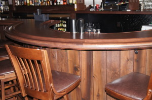 curved bar rail