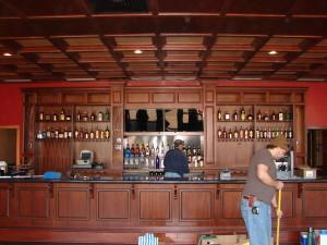 Lariat Steakhouse bar front