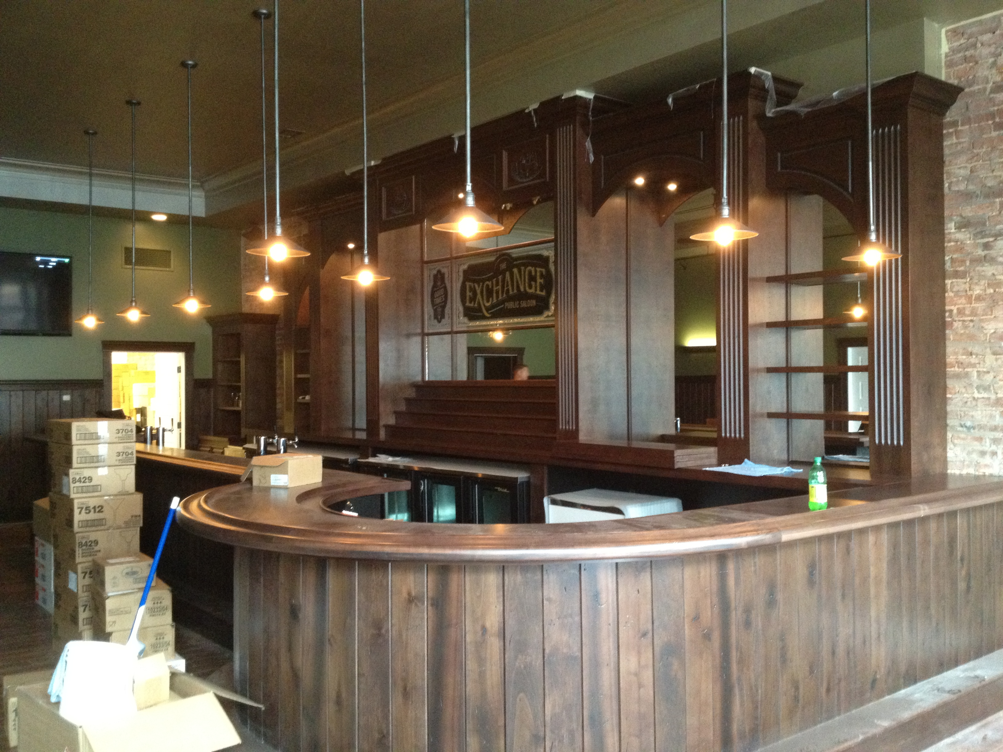 bar 4 * WoodGrid® Coffered Ceilings by Midwestern Wood Products Co.