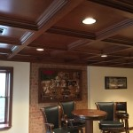 Coffered Ceiling in Poplar