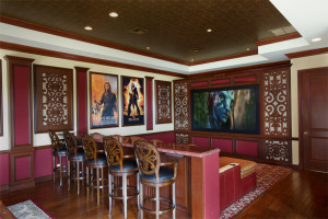 carved wall panels for acoustics