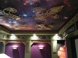ornate ceiling panel design