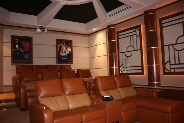Home Theaters Woodgrid 174 Coffered Ceilings By Midwestern